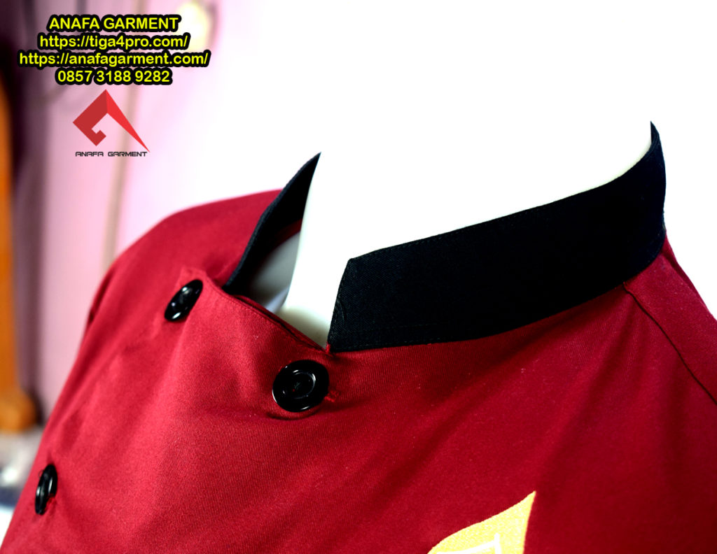 Seragam Karyawan Rumah Makan Rahmawati Anafa Garment Konveksi Detail 4